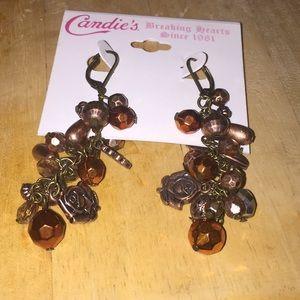 Candies Bronze Earings